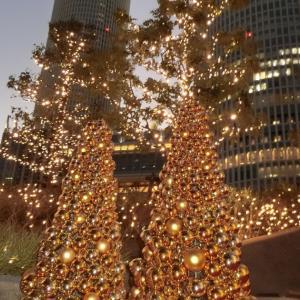 大名古屋ビルヂングとノリタケの森クリスマスイルミネーション