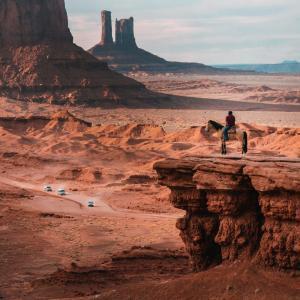 ナバホ族の創世神話 第四の世界
