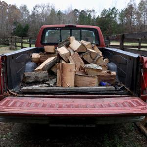 冬支度、国有林に薪を取りに行く話