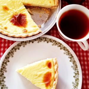 ママの味・・・素朴な味わいカスタードパイ