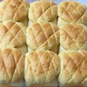 かわいいちぎりパンをいつか作ってみたい!今日はちぎりメロンパン♪