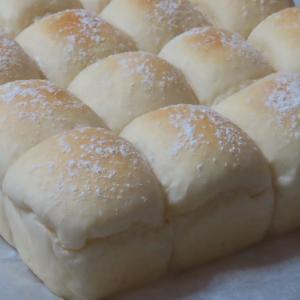 砂糖なしの甘酒ミルクパンをちぎりパンで