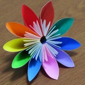 無心になれる折り紙、折りながら色々なことを考える