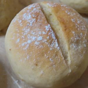 玄米甘酒酵母液でパンを焼きました(ストレート法)
