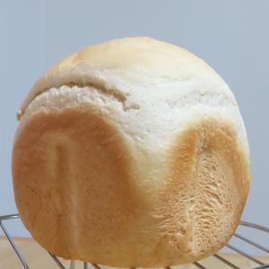 【春よ恋×白神こだま酵母ドライ】ホームベーカリーでもっちり食パン