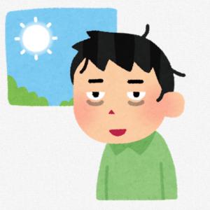 【50歳バイト】朝型生活