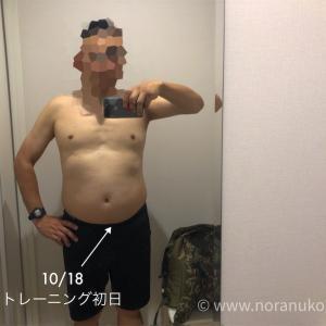 【50歳筋トレ】8月の途中経過