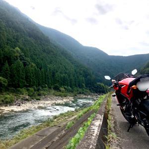 奈良県吉野川沿いをブラリ