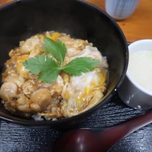 東京中央区築地・鳥藤で「親子丼」//築地魚河岸発祥・鶏肉問屋の直営食堂。鶏肉の味が濃いです。