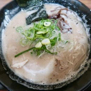 青葉区一番町・藤崎 大九州展で「博多一双・ラーメン」//獣の味がするクセが強い博多とんこつ味です。