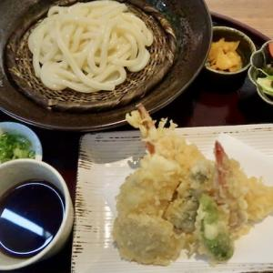 青葉区中央(パルコ1階)・ひなやで「天ざるうどん」//天ぷら多種多様、明るい店内は女性同士のランチに最適かも。(ランパス利用)
