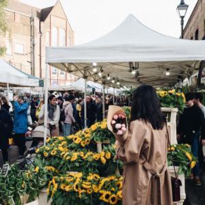 Columbia Road Flower Market & The Lily Vanilli Bakery @ London, UK *ロンドンのフラワーマーケットとおいしいベーカリーで過ごす、日曜日の朝