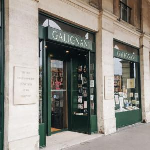 Librairie Galignani @ Paris, France * 吹抜けが美しい、パリの正統派書店