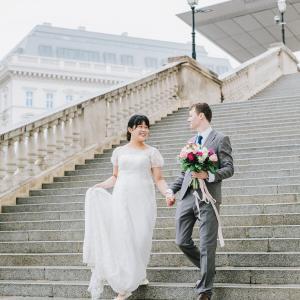 Photo Wedding @ Vienna * 憧れの街ウィーンでフォトウェディング