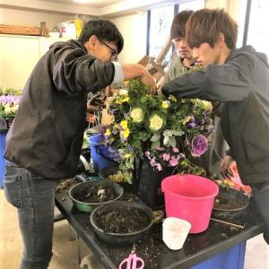 日本ガーデンデザイン専門学校の授業