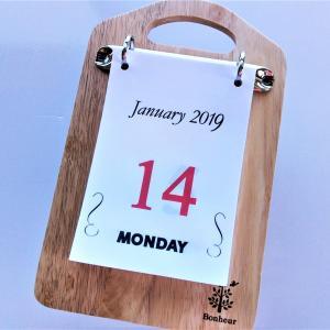 自作の日めくりカレンダー・3つのアレンジ例をご紹介