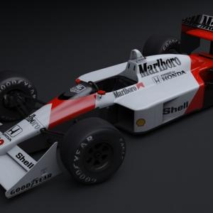 アイルトン・セナ エルフ ポロシャツ F1