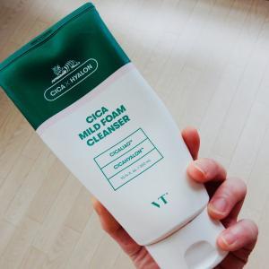 VTシカ洗顔フォームクレンザーの口コミ!敏感肌やニキビにおすすめ