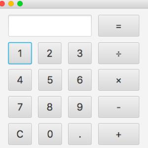 【シリーズ】JavaFXで電卓を作ろう!!Part1
