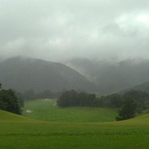 お初のフジ天城は雨に負けました