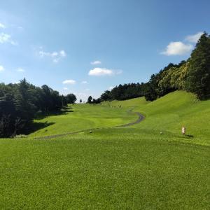 明らかに梅雨明け、夏ゴルフスタートの日