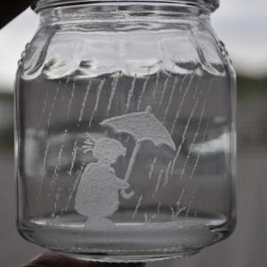 グラスリッツエン、雨の日・・。