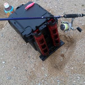 ランガンシステム、VS-7055のカスタムレビュー。サーフの釣りが快適アイテム