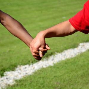 切れる事のないサッカーからの繋がり
