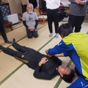 12月バランス反射療法研究会・仙腸関節のゆさぶり
