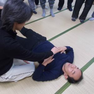 1月バランス反射療法・定例研修会・横隔膜操法Ⅰ(左捻じれ型)・小胸筋操法改正版