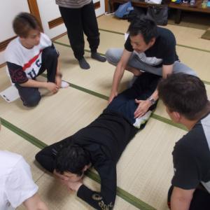 6月バランス反射療法・定例研修会・環跳、中殿筋の使い分け