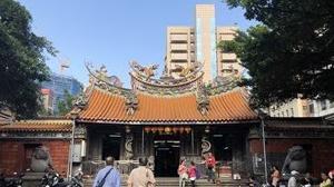 台湾紀行記 初の台北へ⑮  偶然出会った大稲埕三大廟のひとつ 『大稻埕慈聖宮』
