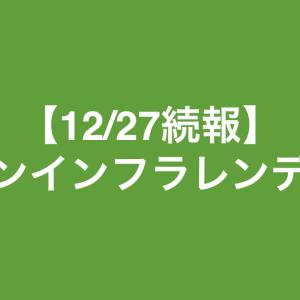 maneoマーケットから、グリーンインフラレンディングについての続報(12/27)がありました!