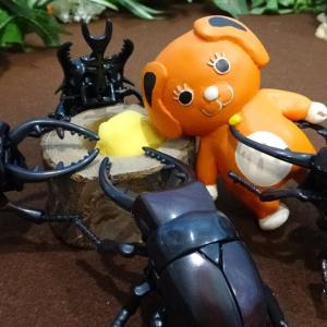 アンパンマン おもちゃ アニメ ゆうぴょん昆虫採集♪カブトムシ クワガタを昆虫採集できるかな?ゆうぴょん yupyon