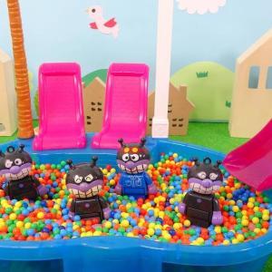 アンパンマン おもちゃ アニメ ビーズプールであそぼう!コキンちゃんがみんなの顔をさがしてあげるよ! トイキッズ
