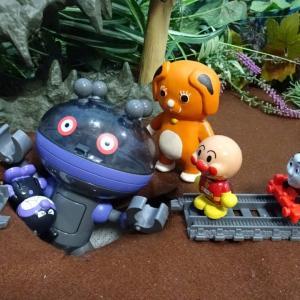 トーマスとアンパンマンが落とし穴にすぽすぽ落ちるよIゆうぴょんが落とし穴からみんなをたすけるよ♪Thomas&Friend Toys♪ゆうぴょん yupyon