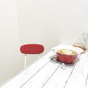 冬ご飯はニトリの可愛いお鍋でいただきます