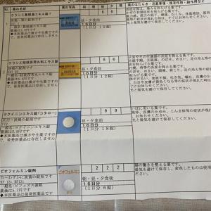 今飲んでいる薬*ダイエット外来編(2021/07/13〜)