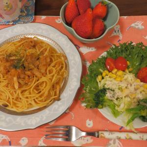 パスタで簡単な夕食・ピエモンテ