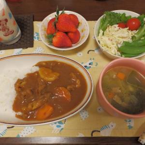 炊飯器カレー・プチベアショコラ