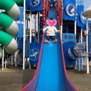 オススメスポット長浜海浜公園でひと休み