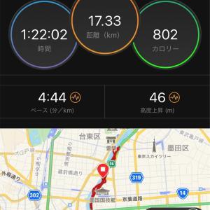 【撃沈速報】隅田川30k走