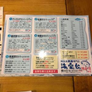 【新大久保】海雲台2号店でお刺身つまみながら新年会