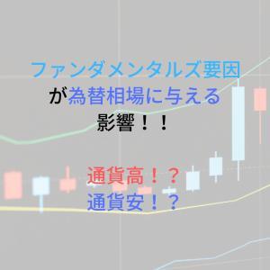 各ファンダメンタルズが為替相場に与える影響を図解解説!!