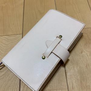 レザークラフト【手帳カバー】