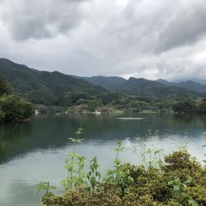 群馬県 大潮湖のブラックバス調査