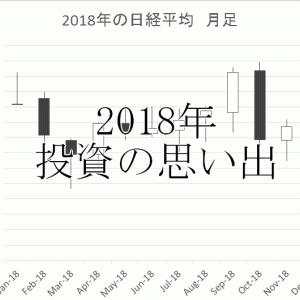 2018年 投資の思い出