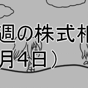 先週の株式相場(1月4日) フラッシュクラッシュ発生!