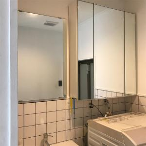 洗面所、小さな改善【ミニマリスト志望主婦のシンプル収納】