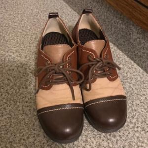 染めQで靴を染めたら失敗した